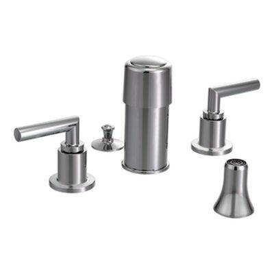 Arris Double Handle Vertical Spray Bidet Faucet by Moen