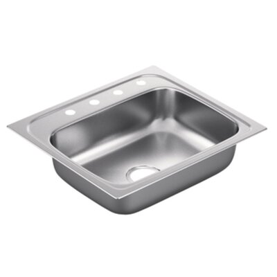 2200 Series Single Bowl Drop-In Kitchen Sink Product Photo