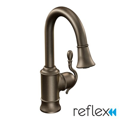 Woodmere Single Handle Single Hole Pull-Out Kitchen Faucet Product Photo