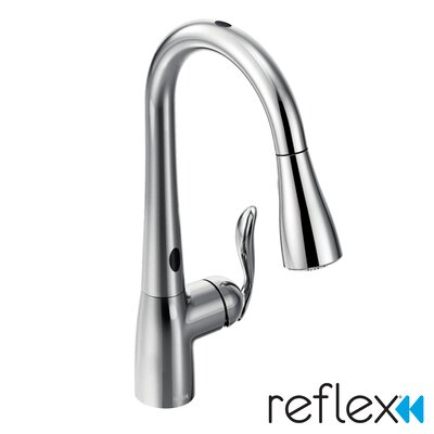 Arbor Single Handle Single Hole Pulldown Kitchen Faucet Product Photo