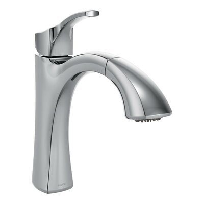 Voss Single Handle Kitchen Faucet by Moen