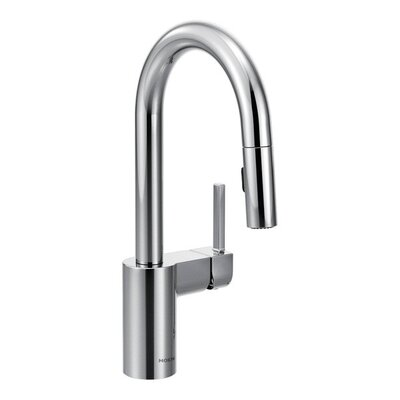 Align Single Handle Deck Mounted Kitchen Sink Faucet Product Photo