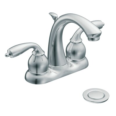 Moen Bayhill Two Handle Centerset Bathroom Faucet