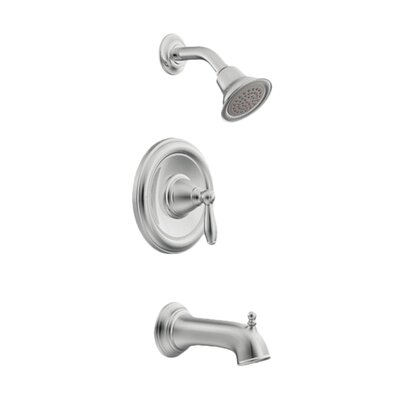 Moen Moen Brantford Posi-Temp Tub and Shower Faucet Trim with Lever Handle