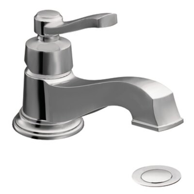 Rothbury Single Handle Single Hole Low Arc Bathroom Faucet with Drain Product Photo