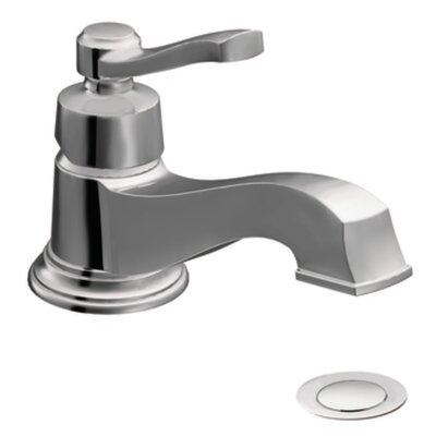 Rothbury Single Handle Single Hole Low Arc Bathroom Faucet with Drain Product Photo