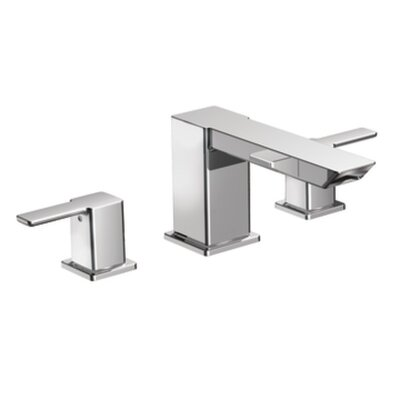 90 Degree Double Handle High Arc Roman Tub Faucet Product Photo