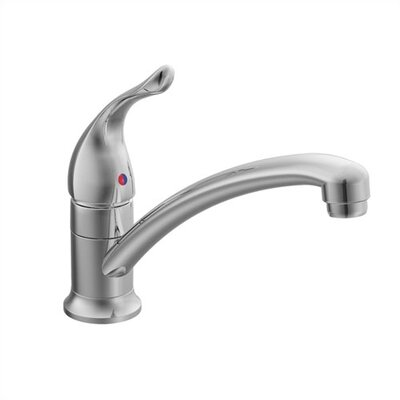 Chateau Single Handle Single Hole Kitchen Faucet by Moen