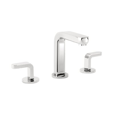 Metris S Two Handles Widespread Standard Bathroom Faucet Product Photo