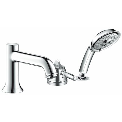 Hansgrohe Talis C Single Handle Roman Tub Faucet Trim with Hand Shower