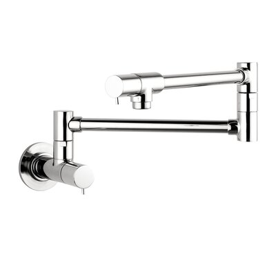 Hansgrohe Talis S Two Handle Wall Mounted Pot Filler Faucet