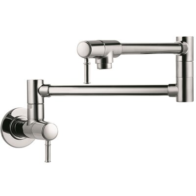 Hansgrohe Talis C Two Handle Wall Mounted Pot Fillers Faucet