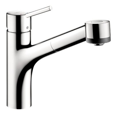 Hansgrohe Interaktiv S One Handle Deck Mounted Kitchen Faucet