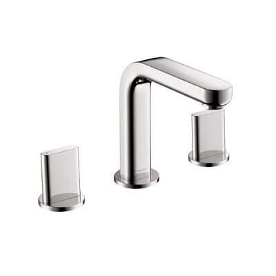 Metris Double Handles Widespread Standard Bathroom Faucet by Hansgrohe