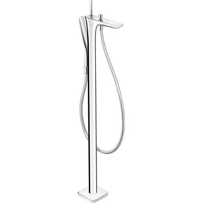 Puravida Single Handle Floor Mount Tub Faucet Trim Product Photo