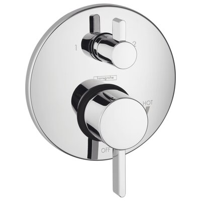 Hansgrohe HG S Pressure Balance Diverter Faucet Trim with Lever Handle