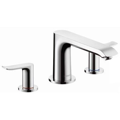Metris Two Handle Wall Mounted Roman Tub Faucet Product Photo