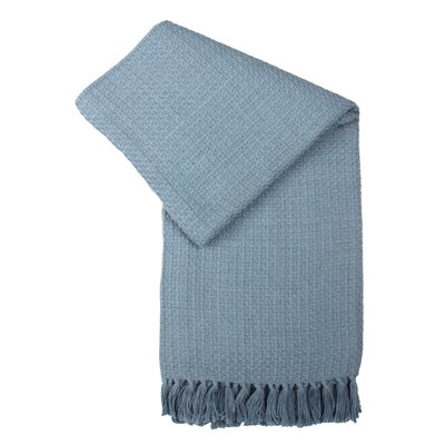 Cocoon Hand Woven Cotton Throw Blanket by Jovi Home