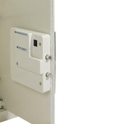 First Alert Anti-Theft Digital Electronic Lock Wall Safe [0.43 CuFt]