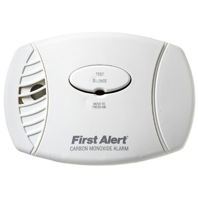 Plug In Carbon Monoxide Alarm with Battery Backup Product Photo