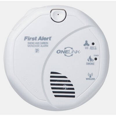 OneLink Enabled Smoke and Carbon Monoxide Alarm Product Photo