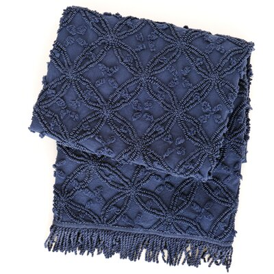 Pine Cone Hill Candlewick Cotton Throw Blanket