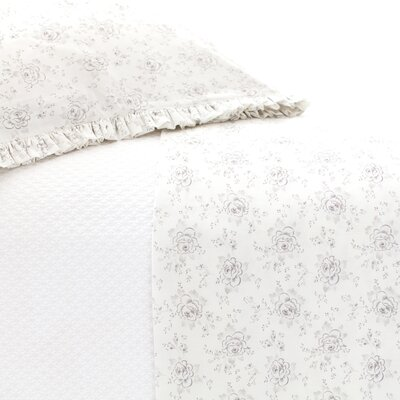 Sweet Roses 2 Piece Sheet Set by Pine Cone Hill