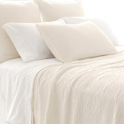 Kerala Matelasse Coverlet Collection by Pine Cone Hill