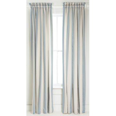 Pine Cone Hill Madeline Stripe Curtain Single Panel