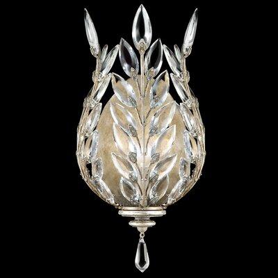 Fine Art Lamps Crystal Laurel 1 Light Wall Sconce