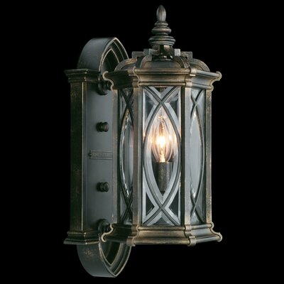 Fine Art Lamps Warwickshire 4 Light Wall Lantern
