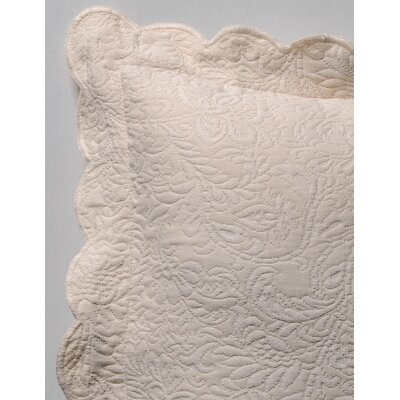 Matelasse Butterfield Euro Sham by Caravelle