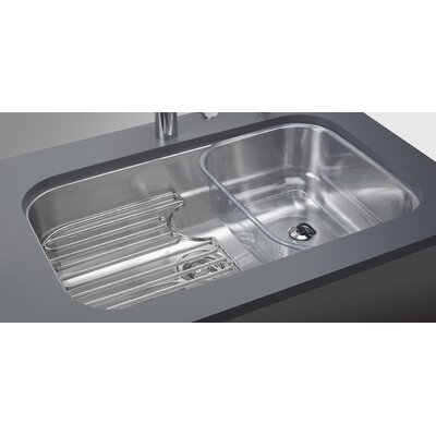 "Oceania 29.94"" x 18.94"" Undermount Kitchen Sink with Ledge Product Photo"