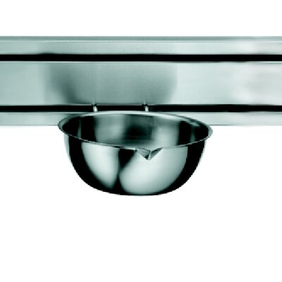 """Franke Rail System 8.5"""" Kitchen Bowl in Stainless Steel"""