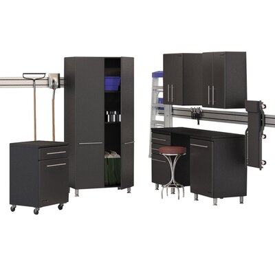 Garage 7-Piece Storage System with Workstation by Ulti-MATE