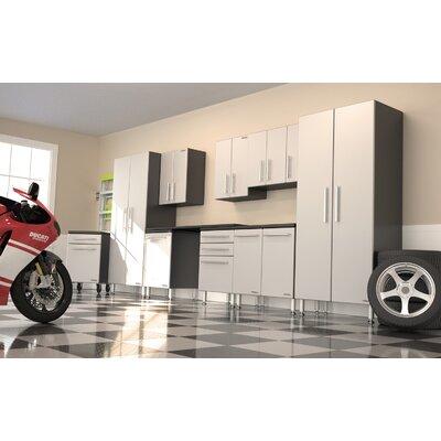 Garage PRO 7' H x 17' W x 2' D 10-Piece Storage Super System with ...