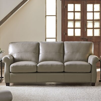 Carlisle Leather Sofa by Lazzaro Leather