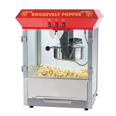 Great Northern Popcorn 8 Oz. Roosevelt Antique Popcorn Machine