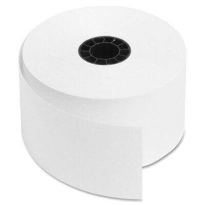 """Sparco Products Cash Register Roll, 38mm, 1-15/32"""", 150' Long, White"""