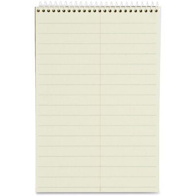 "Sparco Products Steno Notebook, Pitman Ruled, 70 Sheets, 6""x9"", Green"
