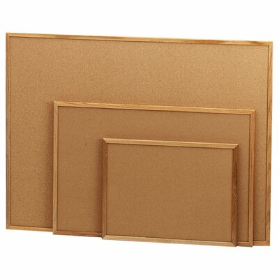 Sparco Products Wall Mounted Bulletin Board