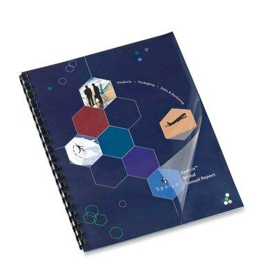 """Sparco Products Presentation Cvr, Square Crnr, Plain, 11""""x8-1/2"""", 100/BX, CL"""