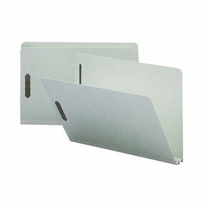 Sparco Products Pressboard Fastener Folder, 25 Pt, 2 Exp, 1/3 Str, Legal, 25/BX
