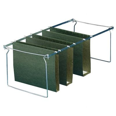 """Sparco Products Box Bottom Hanging File Folders, Legal, 25 per Box, Green, 1""""-3"""" Capacity"""