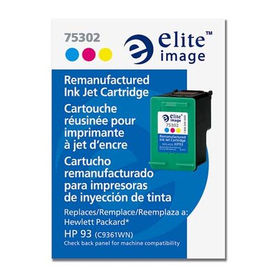 Elite Image Ink Cartridge, for HP Deskjets, 230 Page Yield, Tri-Color
