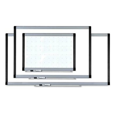 Lorell Wall Mounted Magnetic Whiteboard, 4' x 8'