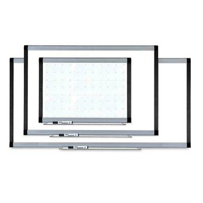 Lorell Magnetic Wall Mounted Whiteboard, 3' x 4'