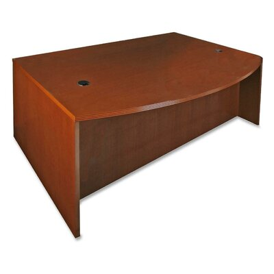 Lorell 88000 Series D-Shaped Bowfront Desk Shell