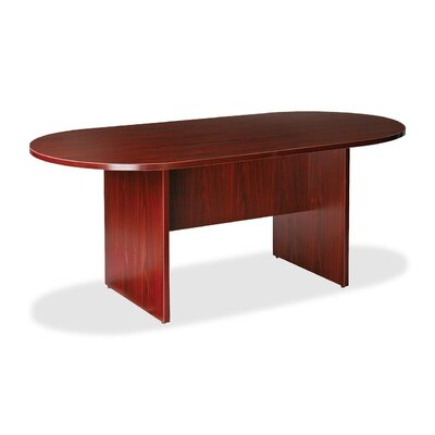 Lorell 87000 Series 6' Oval Conference Table