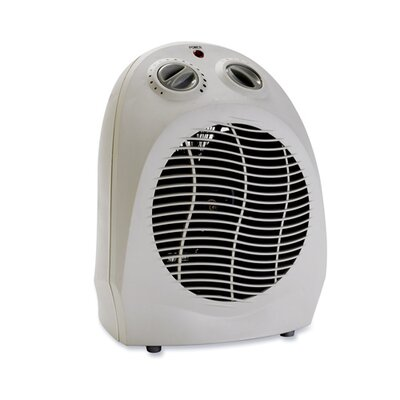 Lorell 1,500 Watt Compact Portable Space Heater
